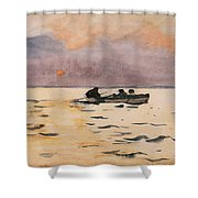 Rowing Home Shower Curtain