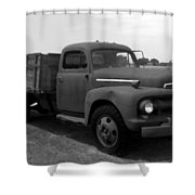 Rusty Ford Truck 2 Shower Curtain