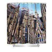 Sagrada Familia - Gaudi Shower Curtain