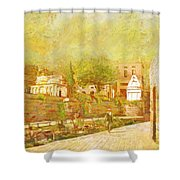 Saidpur Village Shower Curtain