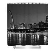 Saint Louis Skyline Shower Curtain