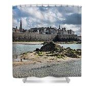 Saint Malo Shower Curtain