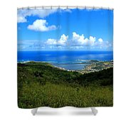 Saint-martin Shower Curtain