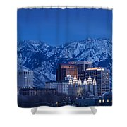 Salt Lake City Shower Curtain