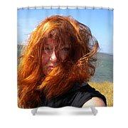 Samsoe Island Denmark Shower Curtain