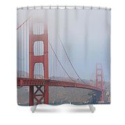 San Francisco - Golden Gate Bridge  Shower Curtain