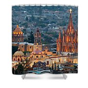 San Miguel De Allende, Mexico Shower Curtain