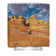 Sandstone Vermillion Cliffs N Shower Curtain