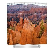 Sandstone Hoodoos Bryce Canyon  Shower Curtain