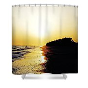 Amazing Sanibel Sunset Shower Curtain
