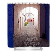 Santa Catalina Monastery Arequipa Peru Shower Curtain