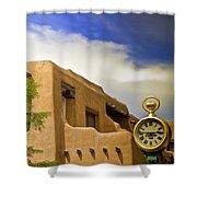 Santa Fe Time Shower Curtain