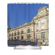 Sao Bento Railway Station Porto Portugal Shower Curtain