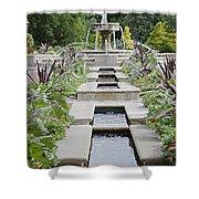 Sarah Lee Baker Perennial Garden 3 Shower Curtain