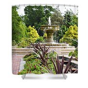 Sarah Lee Baker Perennial Garden  4 Shower Curtain
