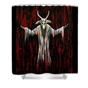 Savior Shower Curtain by Steve Hartwell