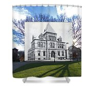 Sayles Hall At Brown University In Providence Rhode Island Shower Curtain