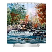 Scenic Falls Shower Curtain