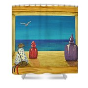Sea View One Shower Curtain