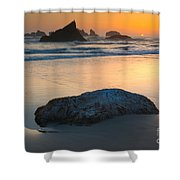 Seastacks, Oregon Coast Shower Curtain