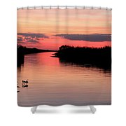 Seeking The Moment Shower Curtain