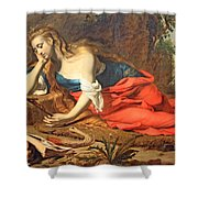 Seghers' The Repentant Magdalen Shower Curtain