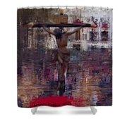 Semana Santa Shower Curtain