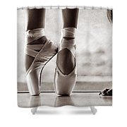 Shall We Dance Shower Curtain by Laura Fasulo