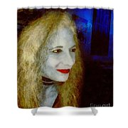 She Comes In Colors Shower Curtain