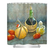 Sicilian Table Shower Curtain