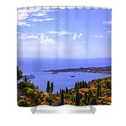 Sicily View Shower Curtain