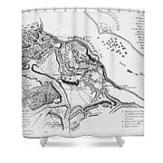 Siege Of Yorktown, 1781 Shower Curtain