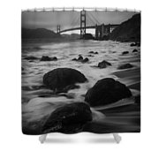 Silver Gate Shower Curtain