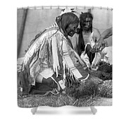 Sioux Medicine Man, C1907 Shower Curtain