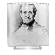 Sir Charles Wheatstone (1802-1875) Shower Curtain