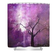 Skyeden Night Shower Curtain