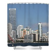 Skyline Miami Shower Curtain