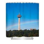 Skylon Tower Shower Curtain