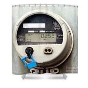 Smart Grid Residential Digital Power Supply Meter Shower Curtain