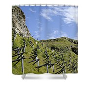 Snow Protection Shower Curtain
