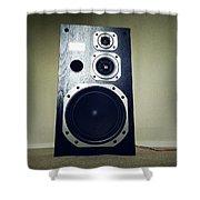 Speaker Shower Curtain