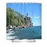 Upon This Rock Shower Curtain