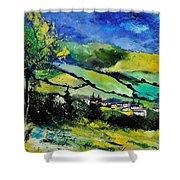 Spring Landscape  Shower Curtain