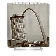 St. Louis - Gateway Arch Shower Curtain