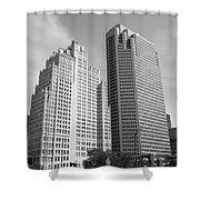 St. Louis Skyscrapers Shower Curtain