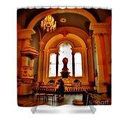 St Pauls Chapel Shower Curtain