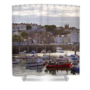 St Peter Port - Guernsey Shower Curtain