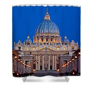 St Peter's Basilica Shower Curtain