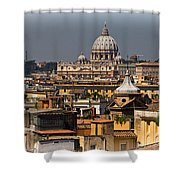 St Peters Basilica Shower Curtain