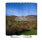 Staigue Fort At 2,500 Years Old One Shower Curtain